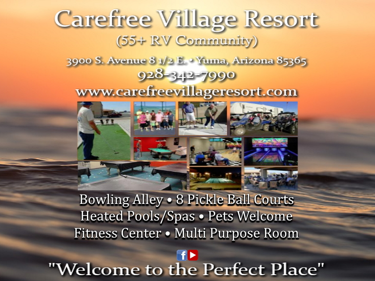 carefree village resort, yuma county, az