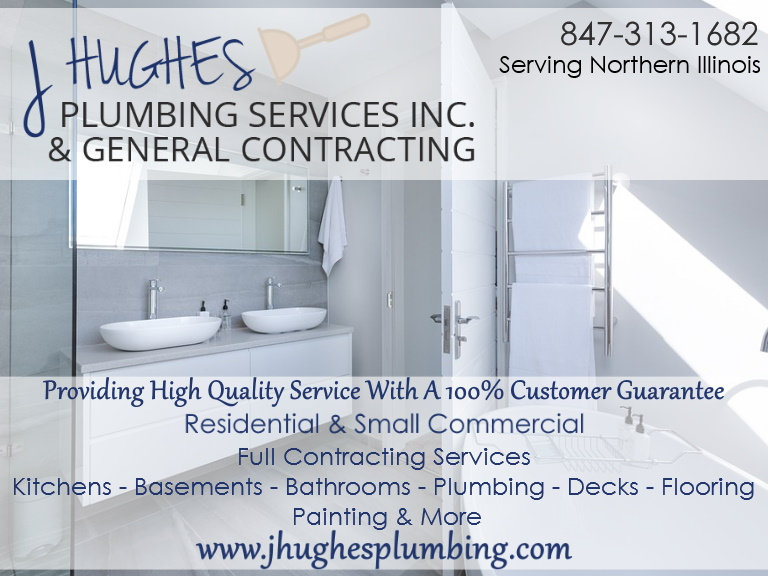 j hughes plumbing services, lake county, il