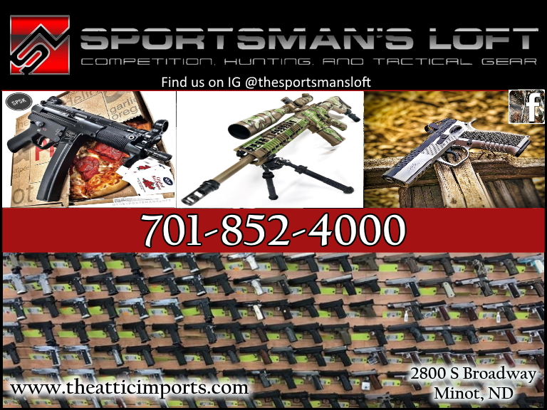 sportsmans loft, ward county, nd