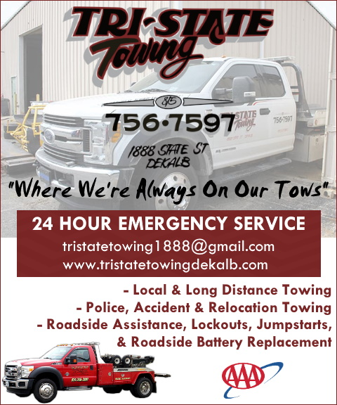 tri state towing, dekalb county, il