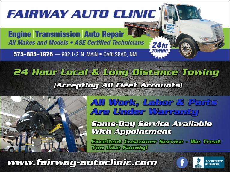fairway auto clinic, eddy county, nm