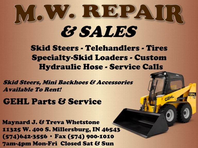 mw repair, elkhart county, in