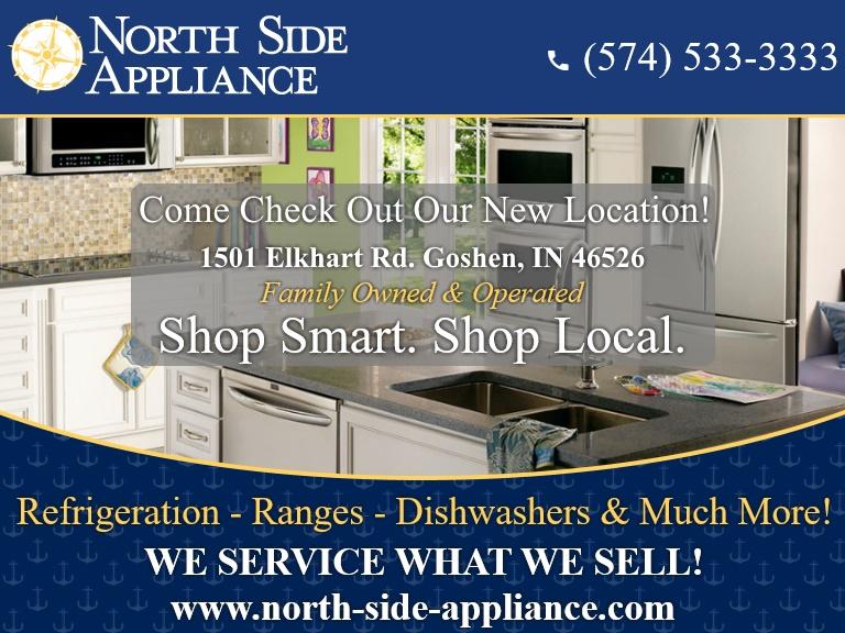 northside appliance, elkhart county, in