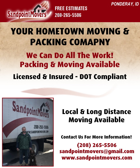 sandpoint movers, bonner county, id