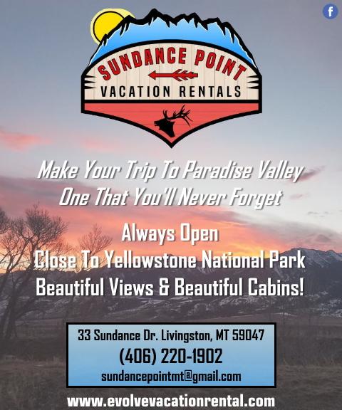 sundance point vacation, park county, mt