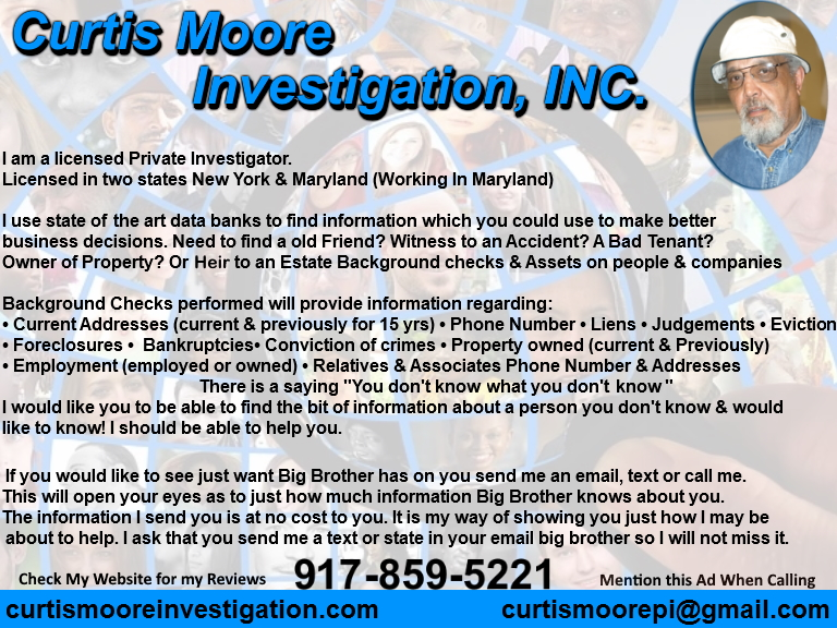 curits moore investigation, baltimore county, md