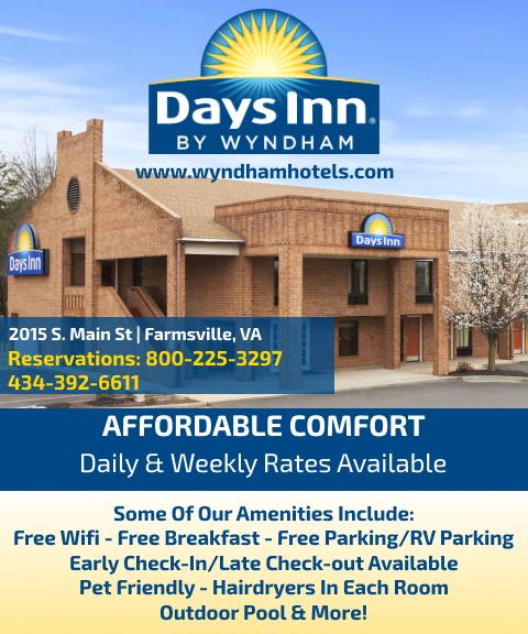 days inn wyndham, prince edward county, va