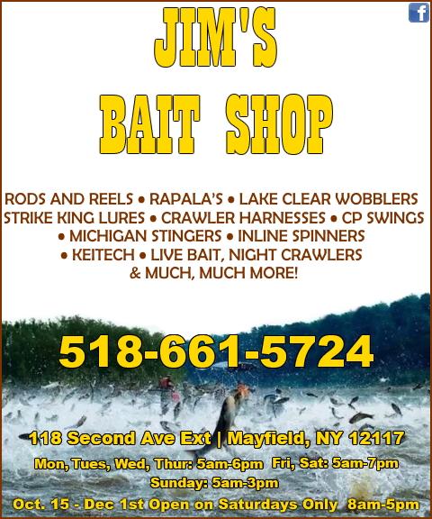 jims bait shop, fulton county, ny