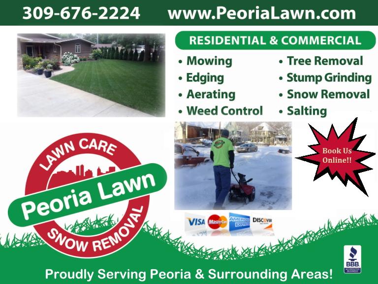 peoria lawn care, peoria county, il