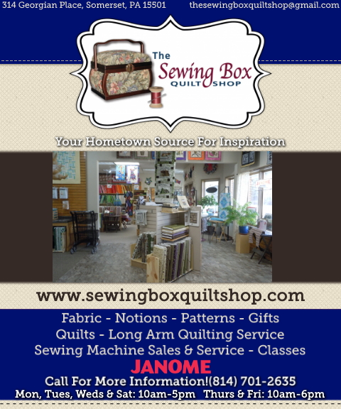 the sewing box, somerset county, pa