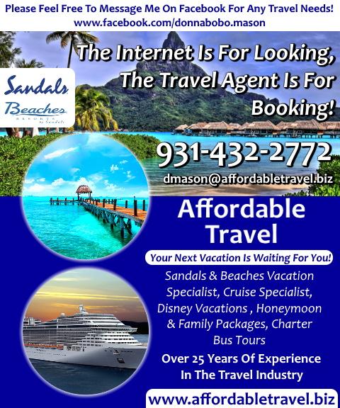 affordable travel, putnam county, tn
