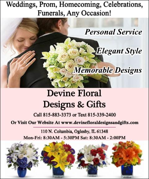 devine floral designs & gifts, lasalle county, il