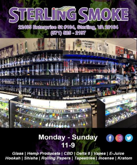 sterling smoke, loudoun county, va