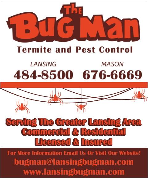 the bug man, ingham county, mi