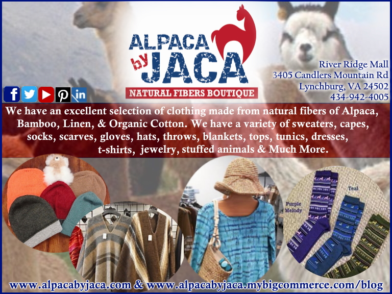 alpaca by jaca, bedford county, va