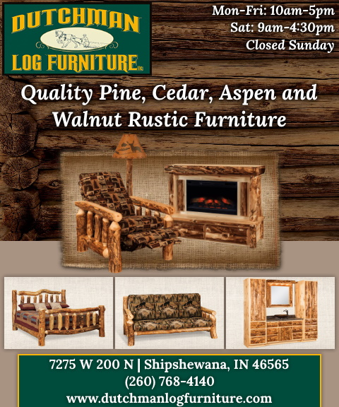 dutchman log furniture, lagrange county, in