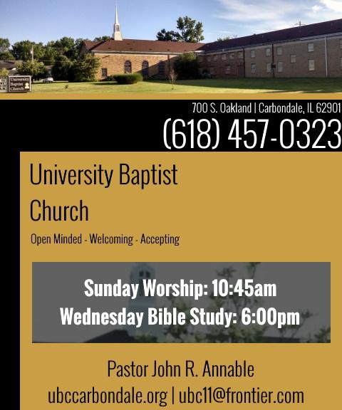 university baptist church, jackson county, il