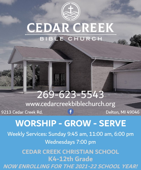cedar creek bible church,BARRY COUNTY, MI