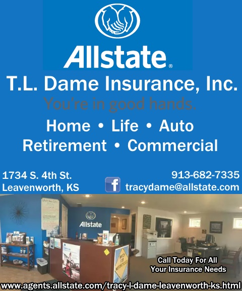 tl dame insurance allstate, leavenworth, ks