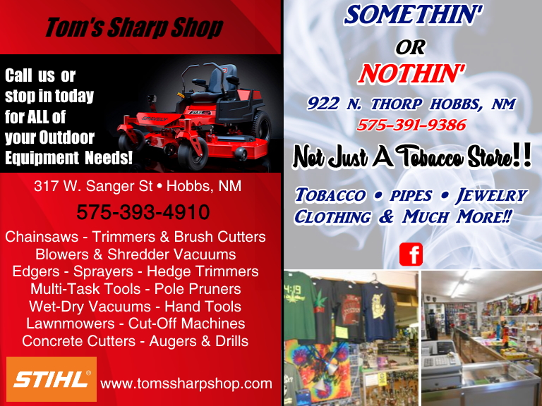 tom sharp something or nothing, lea county, nm