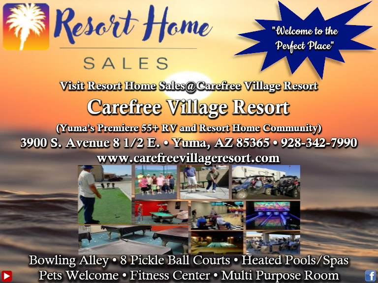 carefree village resort, yuma county, az