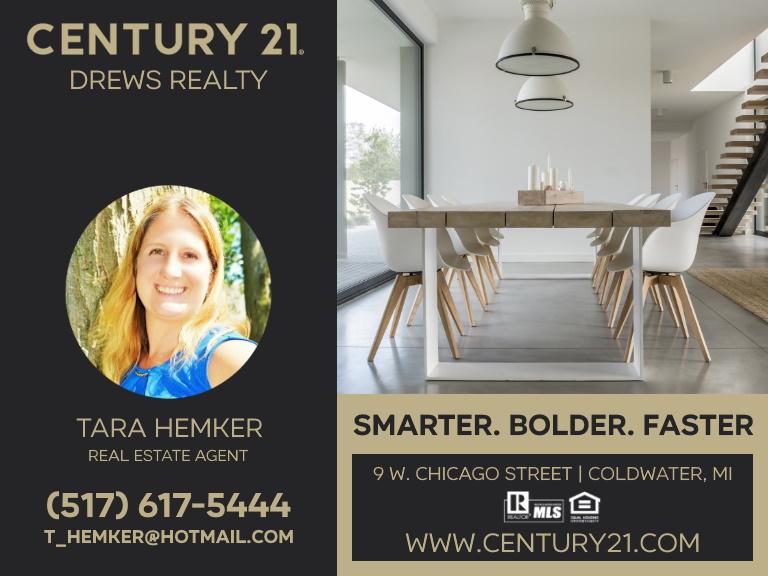 century 21 drews realty, branch county, mi