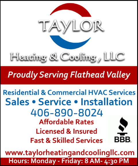 taylor heating and cooling, flathead county, mt