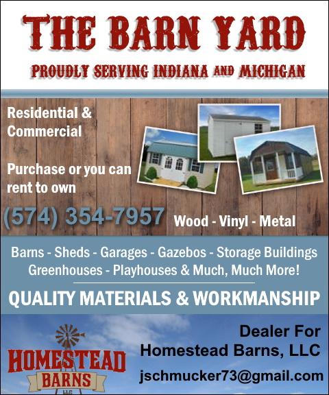 the barn yard, elkhart county, in