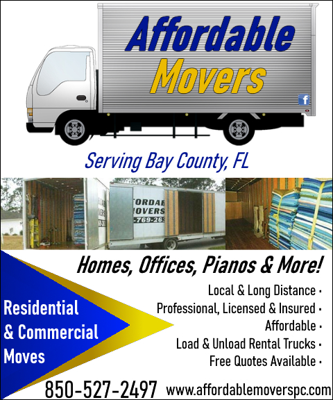 affordable movers, bay county, fl