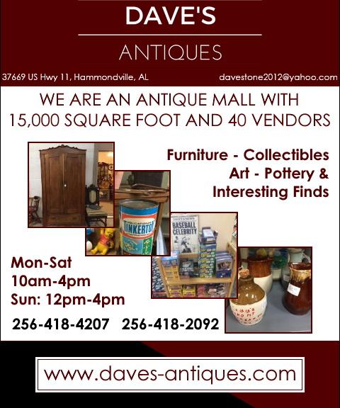 daves antiques, dekalb county, ga