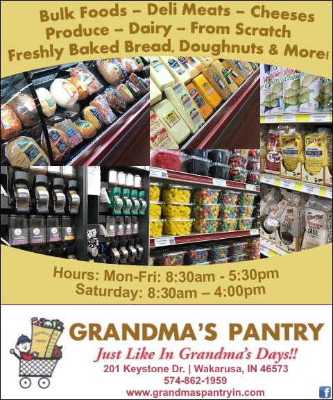 grandmas pantry, elkhart county, in
