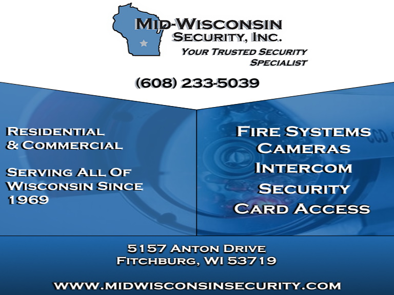 mid wisconsin security, dane county, wi